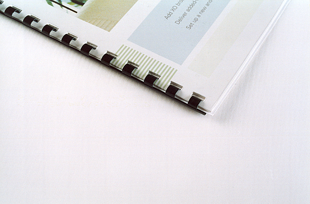 Where to bind papers